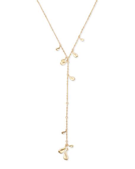 Quincy Lariat Necklace w/ Cubic Zirconia