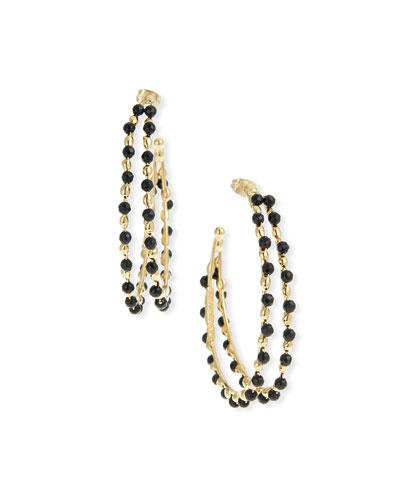Angola Double-Hoop Earrings