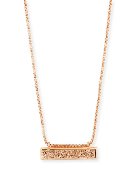 Kendra Scott Leanor Druzy Pendant Necklace