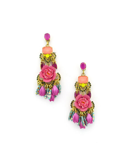 Elizabeth Cole Burke Drop Earrings