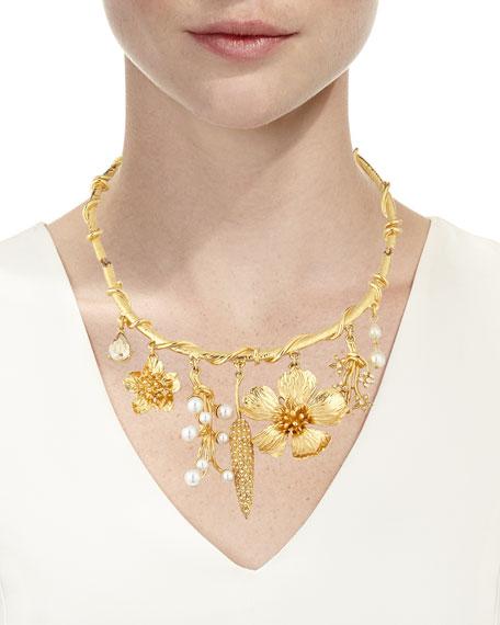 Wildflower Necklace w/ Dangles