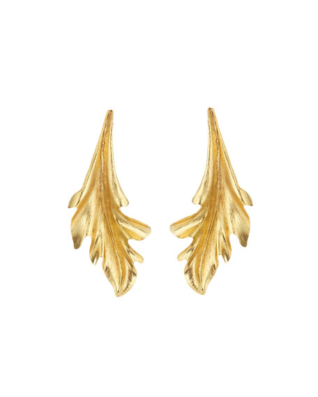 Baroque Leaves Earrings