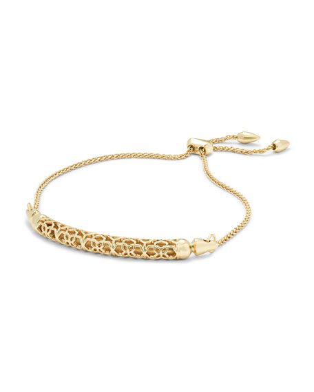 Gilly Filigree Bar Bracelet