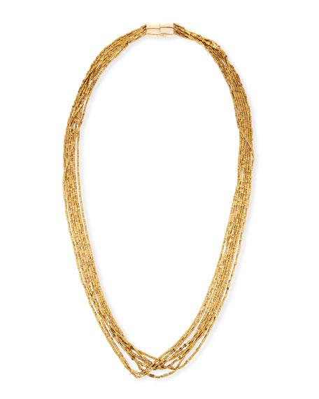 Luna Beaded Multi-Strand Necklace