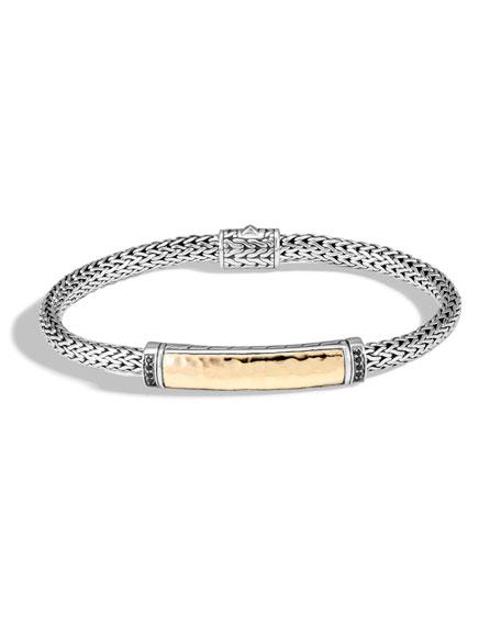 John Hardy Classic Chain Bracelet w/ 18k Gold