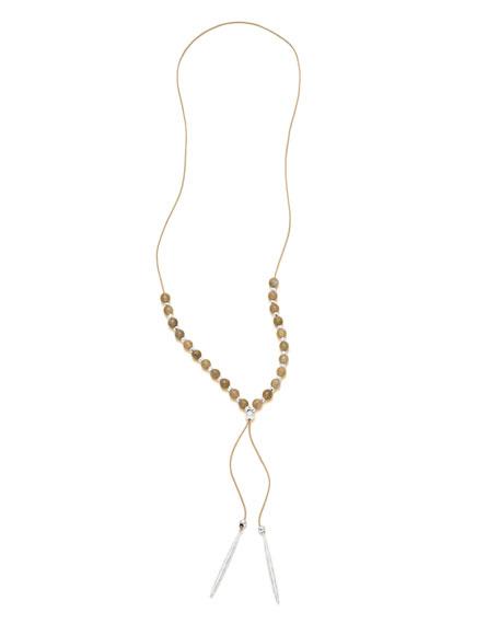 Power Gemstone Labradorite Necklace for Balance