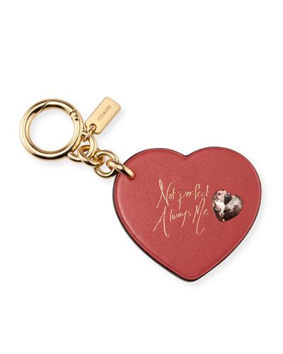 x Selena Gomez Heart Embellished Bag Charm