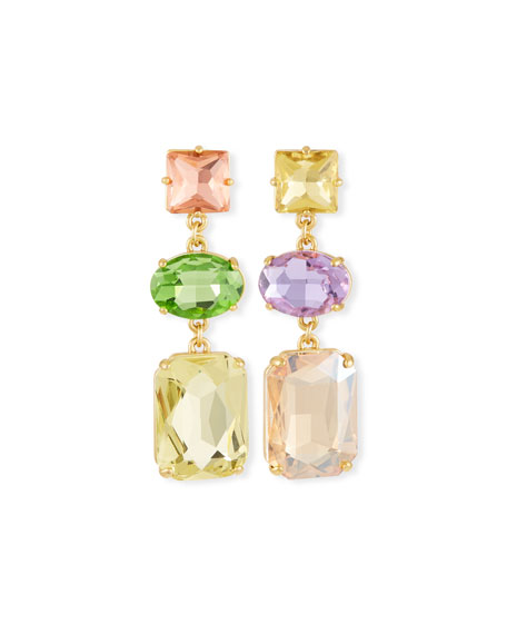 BaubleBar Christine Stone Drop Earrings