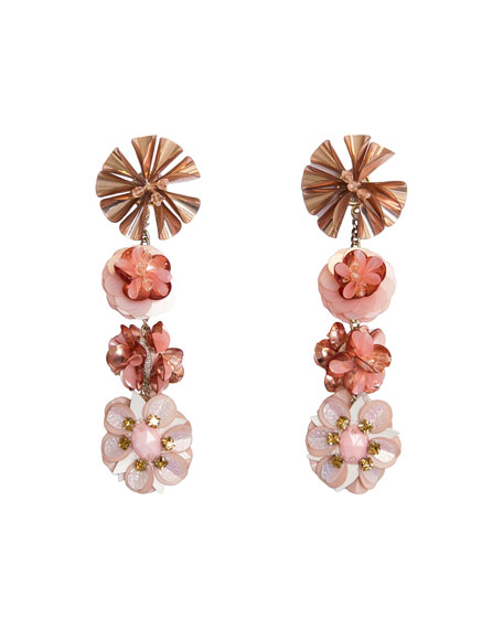 Mignonne Gavigan KAROLINA EARRINGS, MAUVE