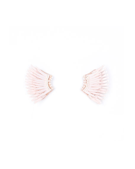 Mignonne Gavigan Madeline Mini Matte Earrings, Pink