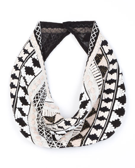 Mignonne Gavigan Nonna Cotton-Silk Blend Scarf Necklace