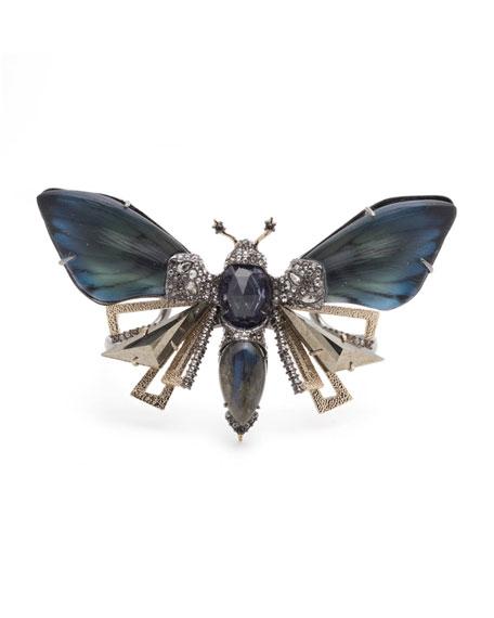 Alexis Bittar Brutalist Butterfly Cuff Bracelet