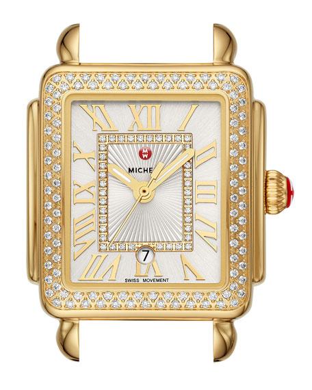 18k Gold Deco Madison Mid Diamond Watch Head