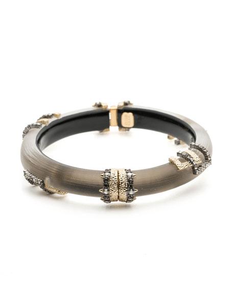 Brutalist Studded Hinge Bracelet
