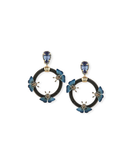 Alexis Bittar Brutalist Butterfly Clip Earrings