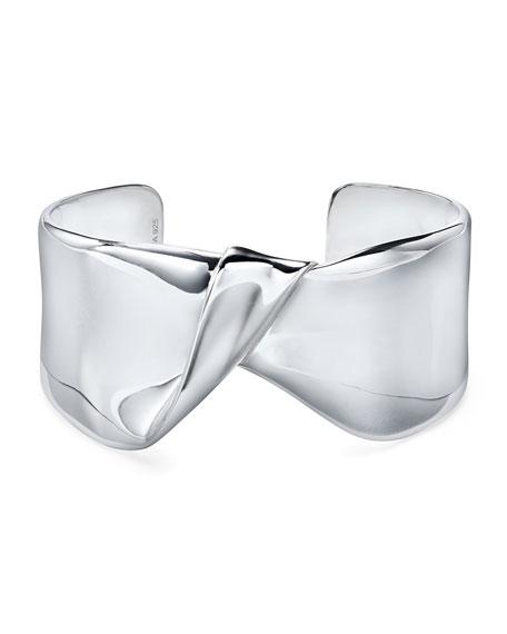 Ippolita Classico Wide Folded Cuff Bracelet