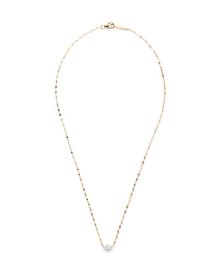 Lana 14K GOLD MARQUISE-CUT DIAMOND PENDANT NECKLACE