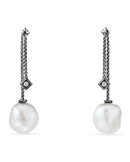 David Yurman Solari Silver Freshwater Pearl & Diamond
