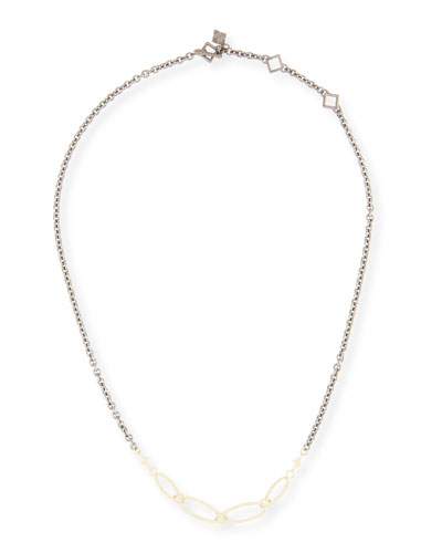 Old World Short Chain Necklace, 18