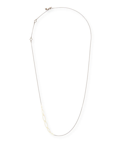 Old World Long Chain Necklace, 32