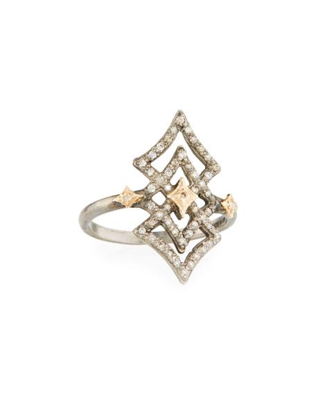 Armenta NEW WORLD OPEN DIAMOND CRIVELLI RING