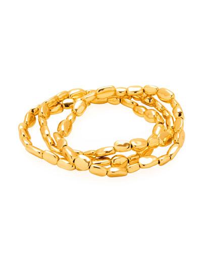 Avery Bead Bracelets, Set of 3