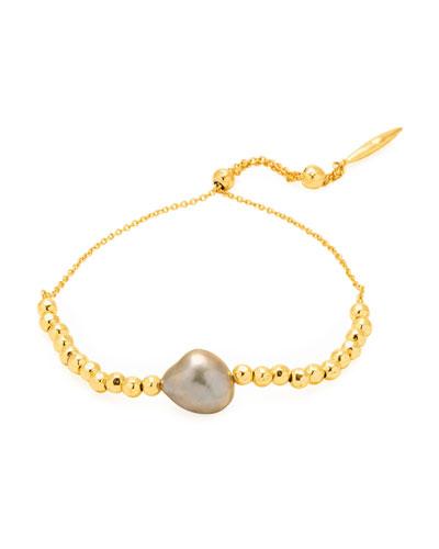 Vienna Adjustable Pearl Bracelet