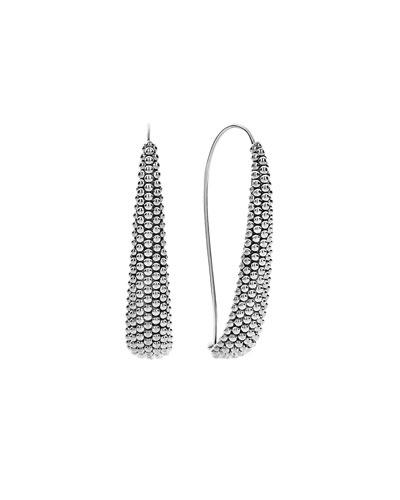 Signature Caviar Wire Drop Earrings