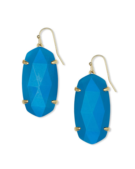 Kendra Scott Esme Drop Earrings, Teal