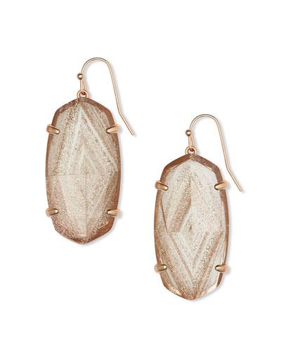 Esme Drop Earrings, Gold Dust