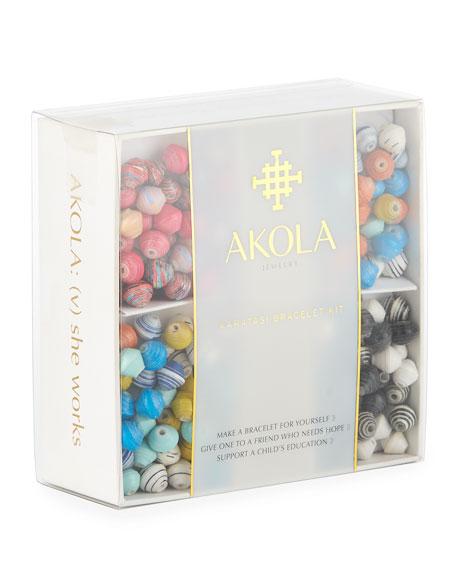 AKOLA Karatasi Build-Your-Own-Bracelet Set in Multi