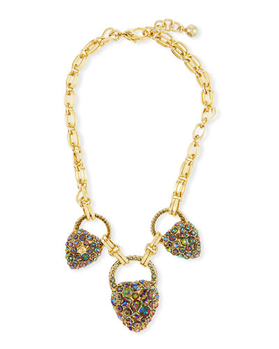 Nina Triple-Drop Necklace