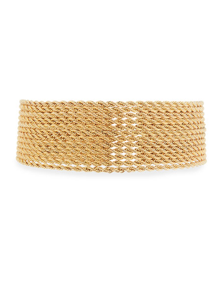 Fallon YACHT CLUB STACKED CHOKER NECKLACE