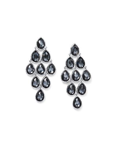 Rock Candy® Cascade Earrings in Pewter