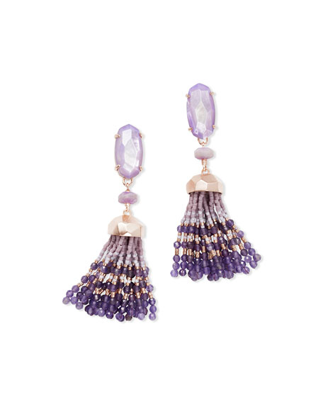 Kendra Scott Dove Tassel Earrings