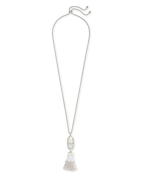 Kendra Scott Eva Adjustable Tassel Pendant Necklace, 32