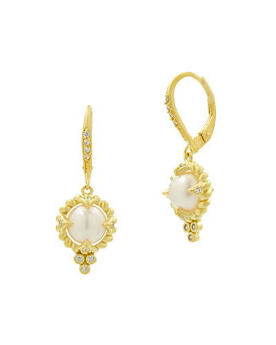 Textured Small Drop Earrings