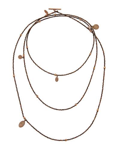 Multi-Strand Hematite Necklace