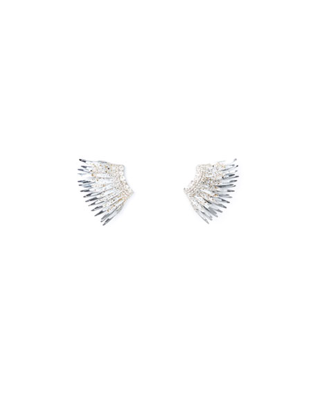 Mignonne Gavigan Madeline Mini Paint-Splatter Statement Earrings