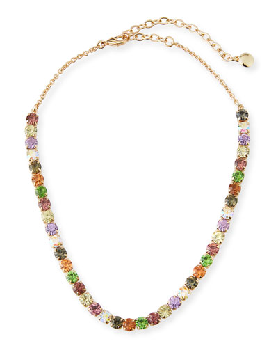 Laurence Multicolor Crystal Necklace