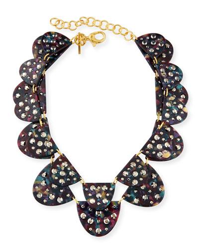 Spotlight 2-Row Semicircle Necklace