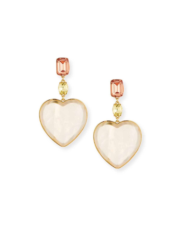 Amaya Heart Drop Earrings