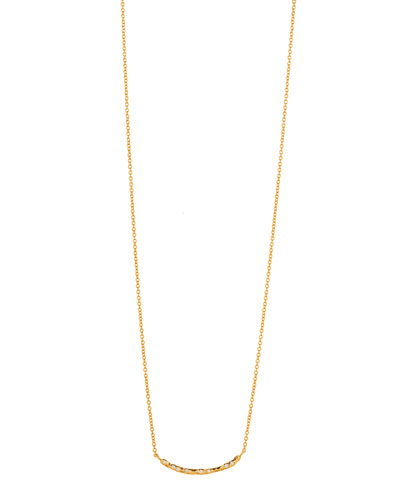 Collette Curved Bar Necklace