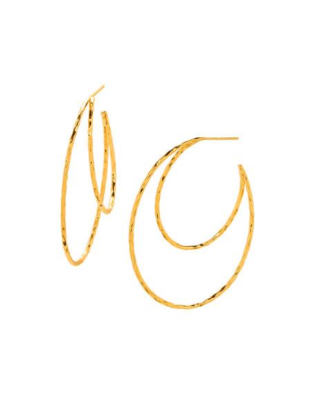 Gorjana Waverly Profile Hoop Earrings