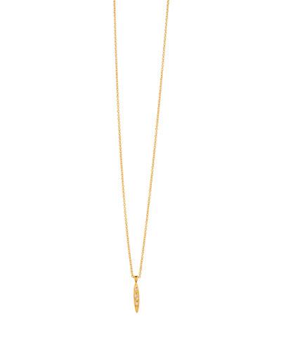 Collette Cubic Zirconia Marquise Pendant Necklace