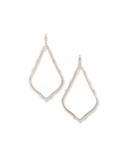 Sophee 14k Gold Diamond Earrings