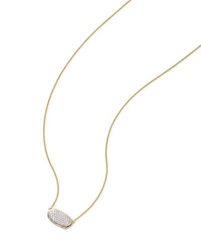Elisa 14k Gold Diamond Pendant Necklace