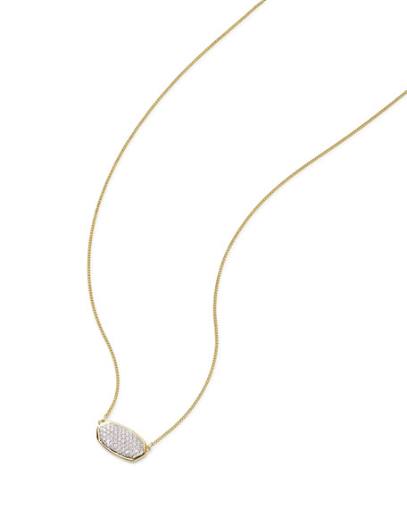 Kendra Scott Elisa 14k Gold Diamond Pendant Necklace
