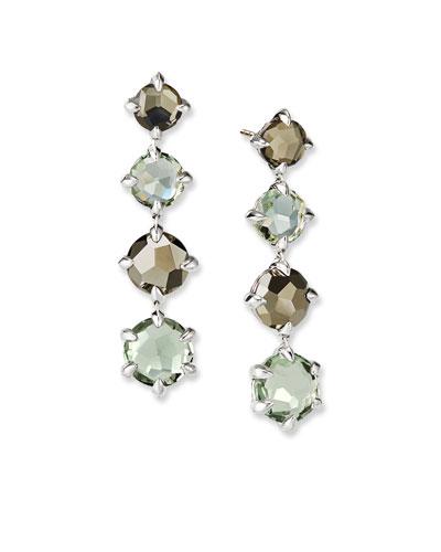 Chatelaine Drop Earrings w/ Topaz