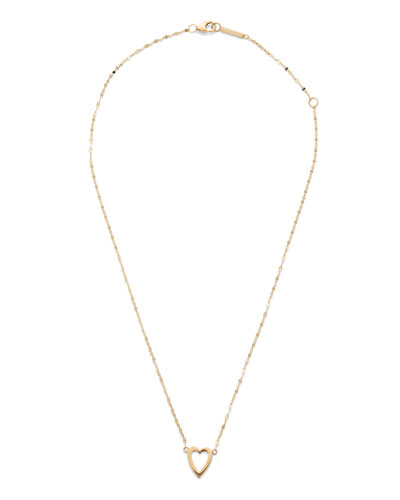 Girls' 14k Gold Heart Pendant Necklace